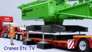 Conrad Sennebogen 5500 Starlifter Crawler Crane by Cranes Etc TV