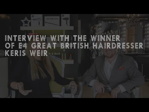 E4 Great British Hairdresser - Interview Series