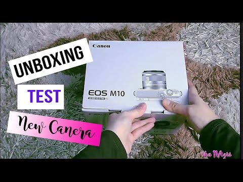CANON M10 Unboxing and Photo Test