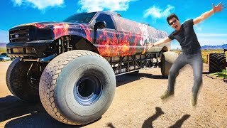 I BOUGHT A MONSTERTRUCK IN LAS VEGAS!
