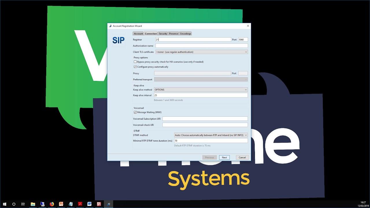 VoIP Free Trial Softphone Setup