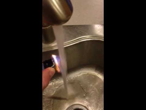 Burning Water and Fracking. Pure Michigan