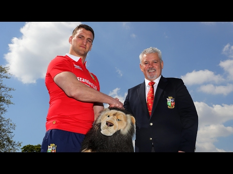Warren Gatland names British & Irish Lions squad for New Zealand tour – video report