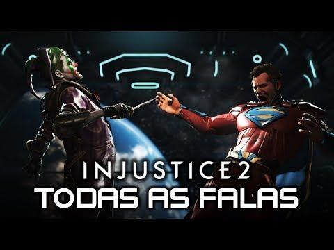 INJUSTICE 2: Todas As Falas Entre CORINGA & SUPERMAN