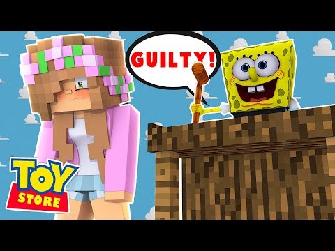 LITTLE KELLY DOLL GETS SENTENCED TO THE DUMPSTER! Minecraft Toystore