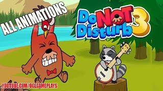 Do Not Disturb 3 - All Animations Gameplay (Android iOS)