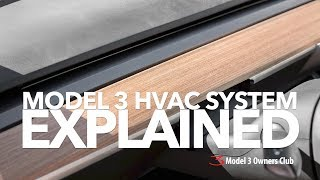 Model 3 HVAC System Explained | Model 3 Owners Club