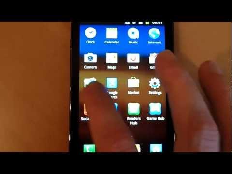 Samsung Galaxy R Kurzüberblick