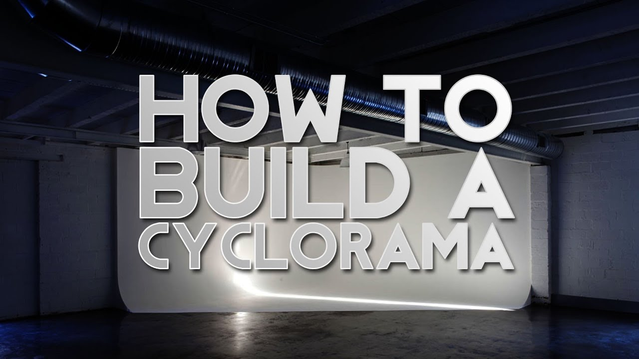 Dvtv How To Build A Cyclorama Cyc Wall Infinity Curve