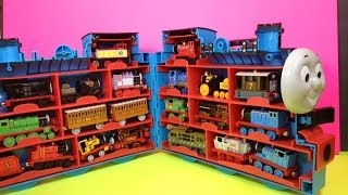 20 Thomas and Friends Engines in Diecast Trains Case like Kinder Surprise PleaseCheckout channel