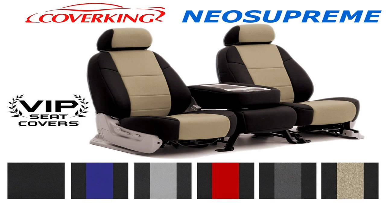 Coverking Custom Fit Rear 6040 Bench Seat Cover For Select Toyota Tacoma Mo