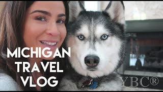Travel Diaries: Michigan Workshop and A Visit with My Husky