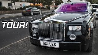 Rolls Royce Phantom - Interior and Exterior tour, Engine Sound!