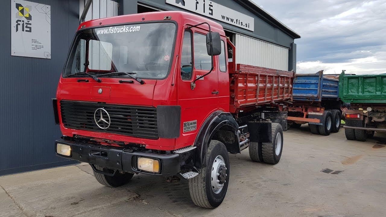 Truck mercedes benz 1928 4x4 tipper fi trucks machinery for Mercedes benz 4x4 truck