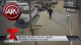 Ingresó a un apartamento e intentó violar a una mujer | Al Rojo Vivo | Telemundo