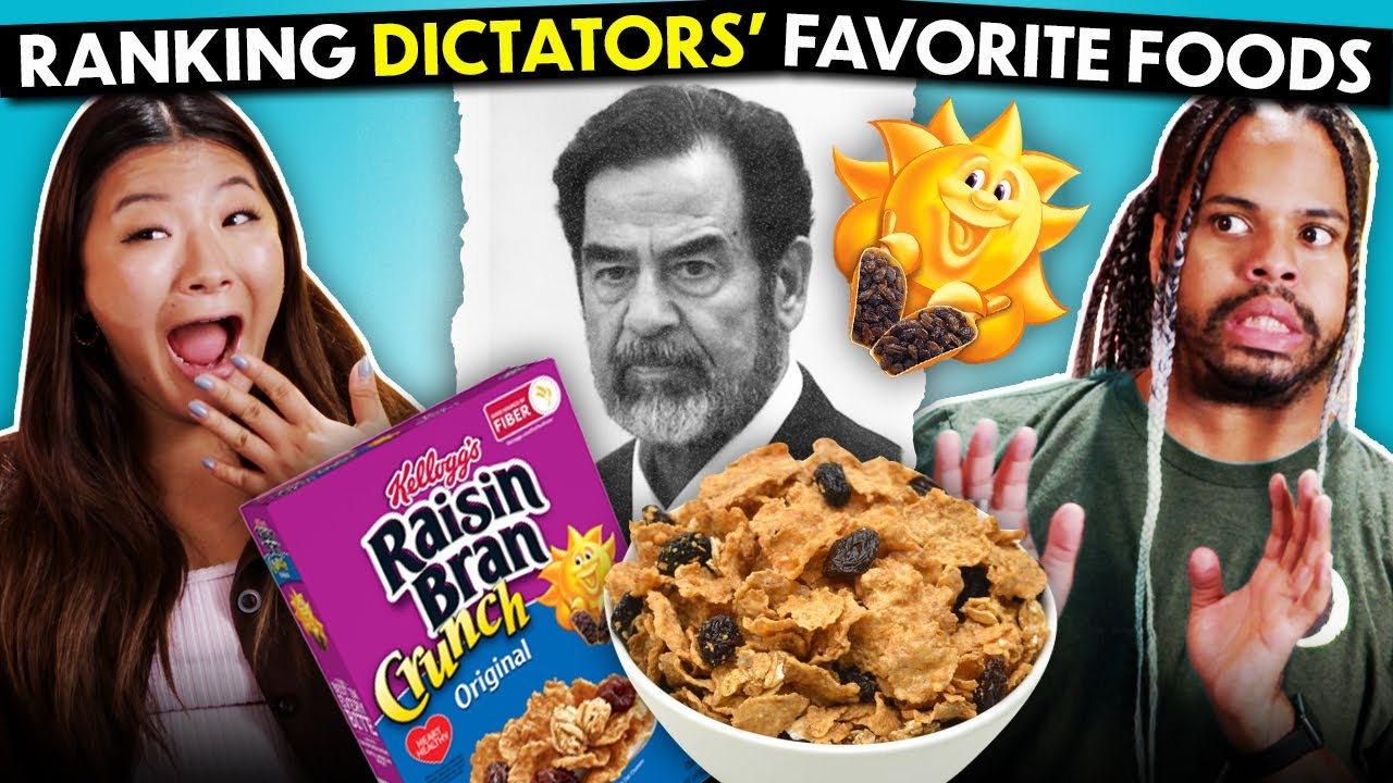 Trying Notorious Dictator's Favorite Foods | People Vs. Food (Mussolini, Castro, Saddam Hussein)
