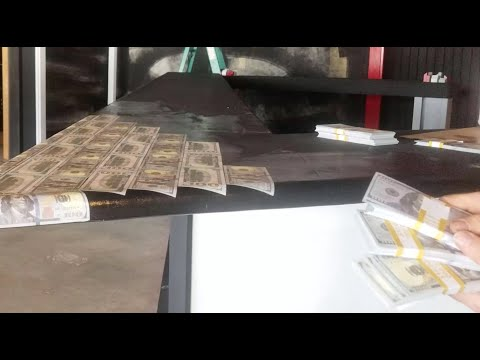 $50,000 on a Countertop? Money Bar