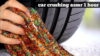 Car Crushing asmr 1 hour | Crushing Crunchy & Soft Things By Car Compilation 1 hour |