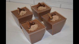 Шоколадно-банановый мусс / Нежный,воздушный и очень вкусный / Мousse