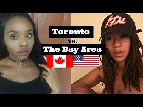 Toronto vs. Bay Area Slang