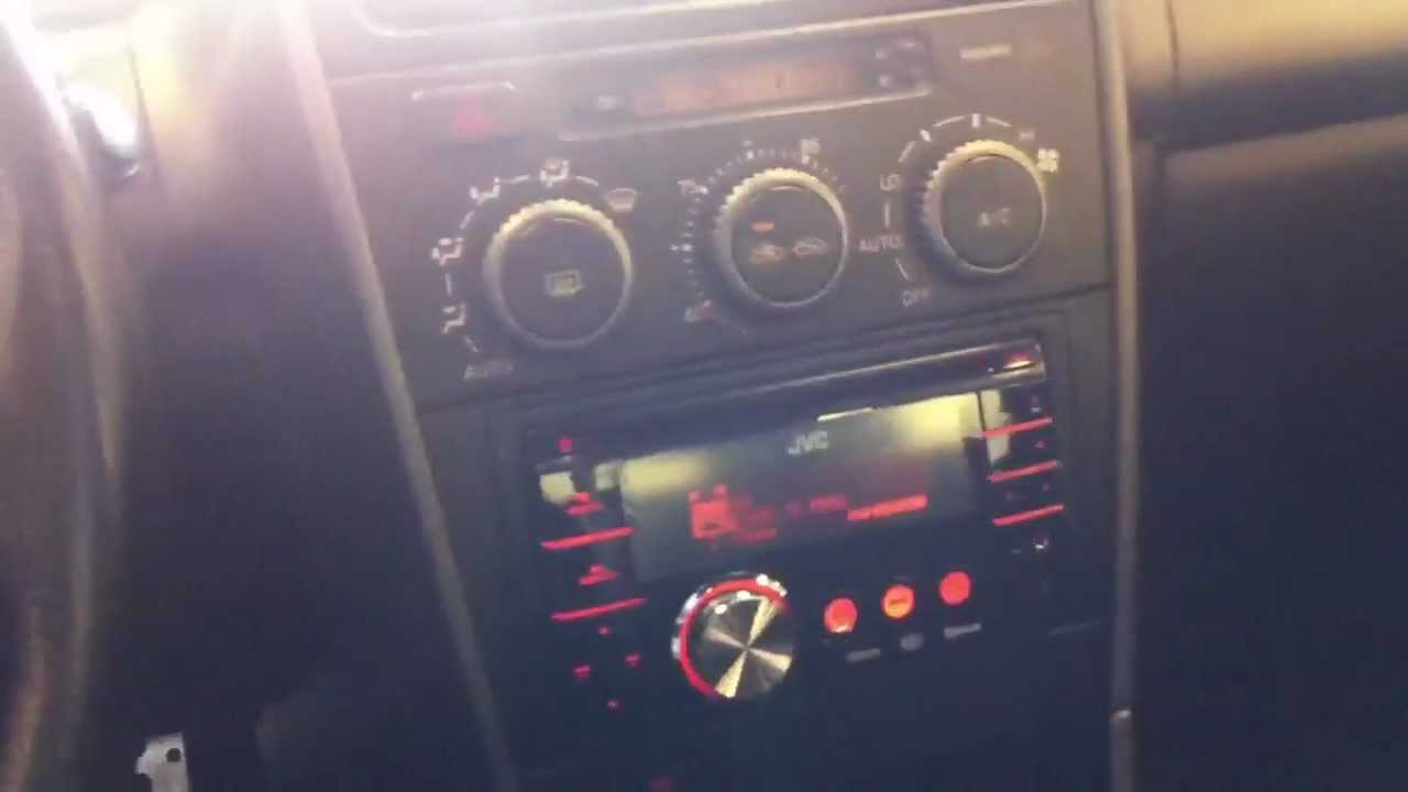 Wiring Diagram For Aftermarket Radio 2001 Lexus Is300 Radio Replacement Jvc Kw Xr810 Ipod Cd