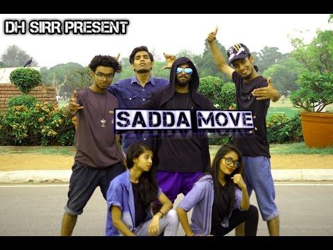 Sadda Move Basic Hip Hop Freestyle From Movie Raabta Sushant ,Kriti Sanon Choreo By Dh Sirr