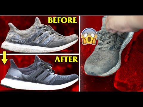HOW TO CLEAN AND CUSTOMIZE ULTRA BOOSTS!!! (TIME LAPSE + TUTORIAL)