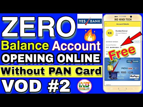 How To Open Yes Bank Account
