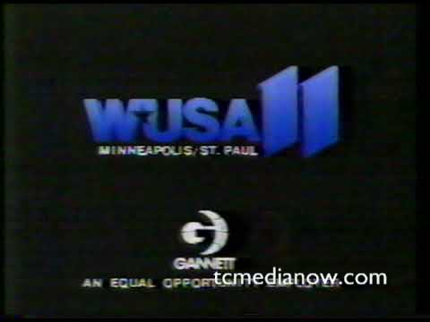 WUSA-TV  (now KARE-TV) 10pm News11 Opening from November 11, 1985 Channel 11 Minneapolis