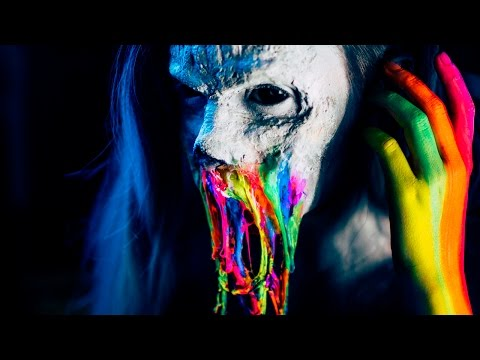Rainbow Neon Zombie -- FX Makeup Tutorial