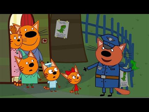 Три кота | Потерянный динозавр | Новая Серия 121 | Мультфильмы для детей