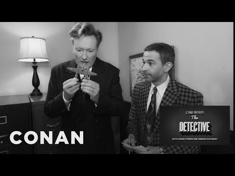 Conan & Jordan Schlansky Escape The Room- CONAN on TBS