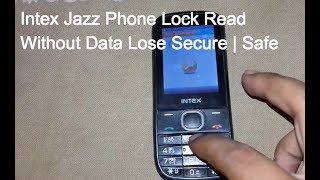 Intex Jazz Phone Lock & Privacy Lock Unlock Without Data Lose