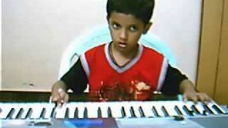 Padmesh Playing vilayada ithu nerama - a Lord Murugan Song