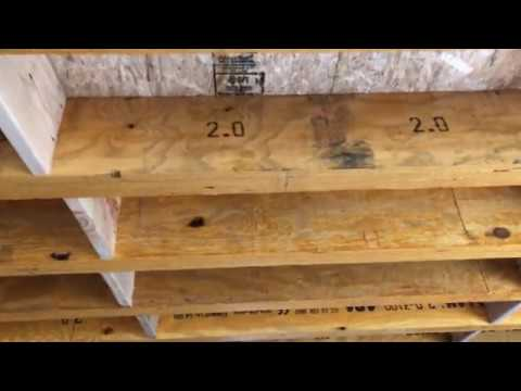 LVL Beams Or Laminated Lam  Beam For Floor Joist.