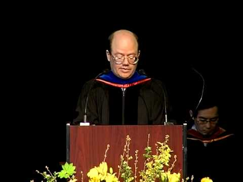 Reed College Commencement 2010: Larry Sanger (part 3 of 3)