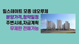 2021 04 16,힐스테이트 모종 네오루체 분양가격 …