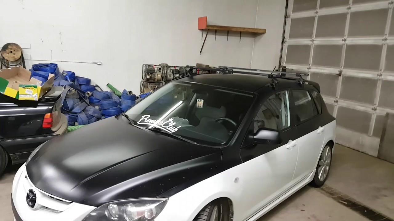 Mazdaspeed 3 Build | Roof Rack Install - YouTube
