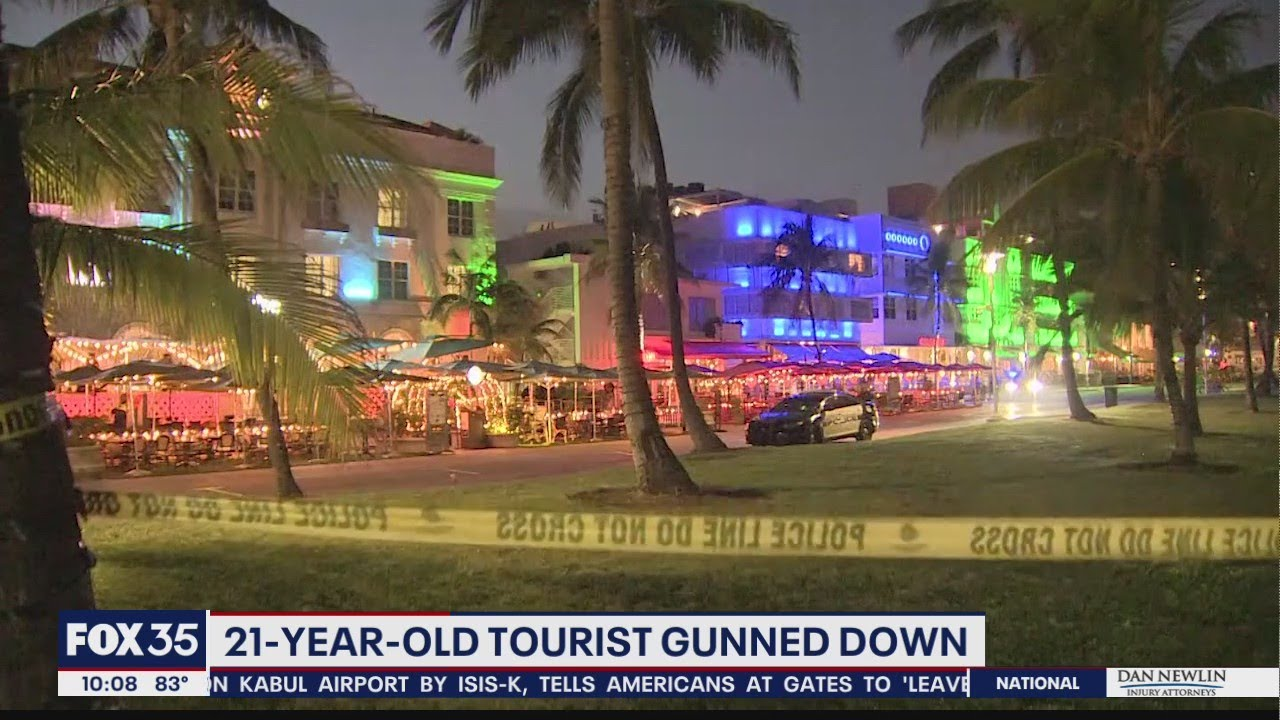 Tourist protecting his baby fatally shot in Florida restaurant