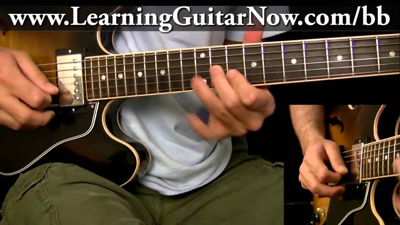 bb king guitar lesson swing blues lick youtube. Black Bedroom Furniture Sets. Home Design Ideas