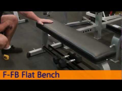 F-FB Flat Bench - Force USA Gym Equipment
