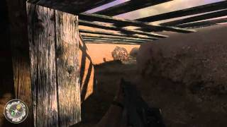 Call of Duty 2 Walkthrough HD Part 17 (Level 10 - Operation Supercharge) Veteran Difficulty