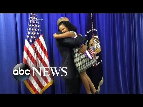 'Little Miss Flint' Says Hugging President Obama Was 'Amazing'