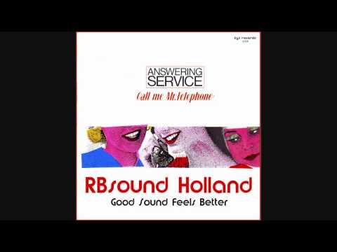 Answering Service - Call Me Mister Telephone (1984) HQsound
