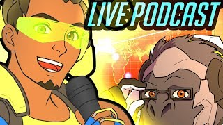 Overwatch Podcast - Blizzard World, New Skins, New Event