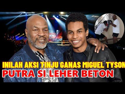 Inilah Aksi Ganas Luar Biasa Miguel Tyson, Putra Mike Tyson Sang Legenda Tinju Dunia