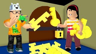 ROBLOX: MY MOTHER AND I IN: WHO FIND THE SECRET KEY WINS!! -Play Old man