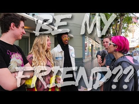 ASKING STRANGERS TO BE MY FRIEND *INTENSE!!!!*