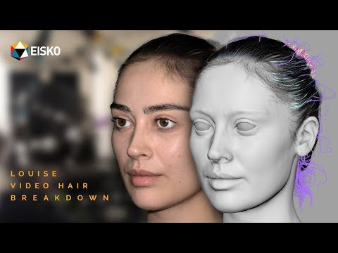 Xgen Maya Hair Tutorial  -  Louise by Eisko