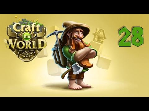 Прохождение Craft The World #1 - Весёлые гномы